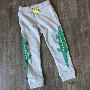 Mini Boden Alligator Sweat Pants